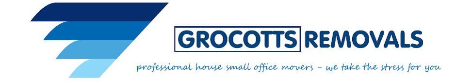 Grocotts Removals banner Stoke on Trent; professional house office movers - we take the stress for you.